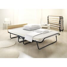 Contour Folding Bed Oversized with Airflow Fiber Mattress and Cover by Jay-Be