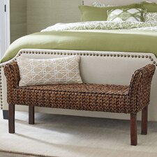 Clearwater Woven Bench by Birch Lane