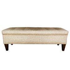 Brooke Upholstered Storage Bench by MJL Furniture