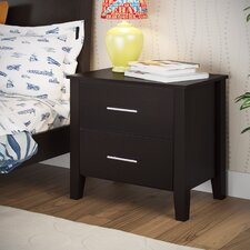Tyre 2 Drawer Nightstand by Three Posts