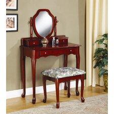 Craigmillar Vanity Set with Mirror by Astoria Grand