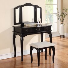 Fuller Vanity Set with Mirror by Rosalind Wheeler