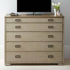 Gaia 5 Drawer Media Chest by Stanley Furniture