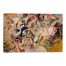 """""""Composition VII"""" by Wassily Kandinsky Painting Print on Wrapped Canvas"""
