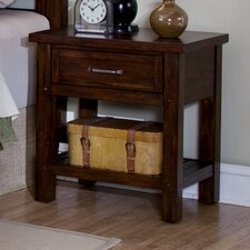 Rockvale 1 Drawer Nightstand by Loon Peak®