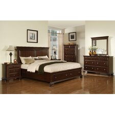 Plattsburgh Panel Customizable Bedroom Set by Three Posts