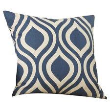 Brock Geometric Cotton Throw Pillow