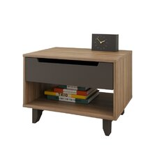 Aristocles 1 Drawer Nightstand by Mercury Row® Reviews