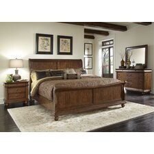 Pinesdale Sleigh Customizable Bedroom Set by August Grove®