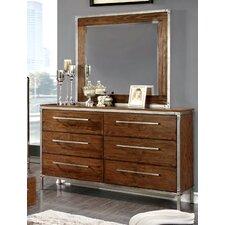 Chaparral 6 Drawer Dresser with Mirror by Trent Austin Design®