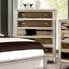 Byzantium 5 Drawer Chest by House of Hampton