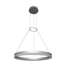 Tania Orbicular 2-Light LED Geometric Pendant