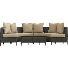 Eta Low Profile 5 Piece Seating Group with Cushion