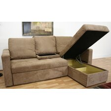 baxton studio amul sleeper sectional by wholesale interiors