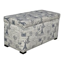Pavot Upholstered Storage Bedroom Bench by Lark Manor