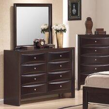 Archer 8 Drawer Dresser with Mirror by Latitude Run