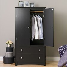 Wanda 2 Door Armoire by Latitude Run
