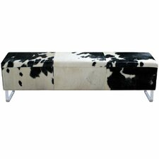 Modernist Upholstered Bedroom Bench by Fashion N You by Horizon Interseas