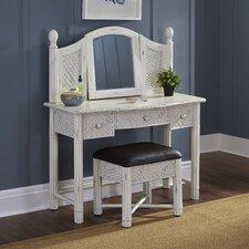 Naugatuck Vanity Set with Mirror by Bay Isle Home