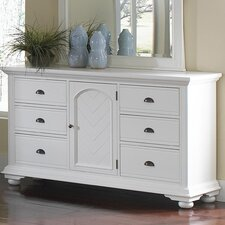 Alpinia 6 Drawer Combo Dresser by Bay Isle Home