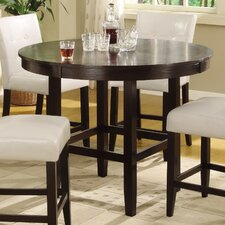 logan counter height dining room table and barstools set of 5 image