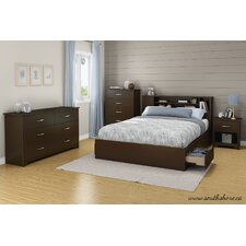 Fusion Queen Panel Customizable Bedroom Set by South Shore Cheap