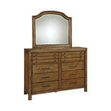 Bethany Square 10 Drawer Dresser with Mirror by Broyhill®