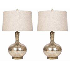 """Baldock 28.27"""" Table Lamp Set (Set of 2)"""