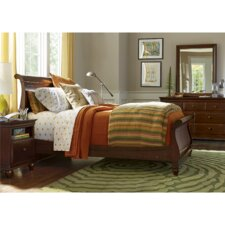 Classics 4.0 Twin Sleigh Customizable Bedroom Set by SmartStuff Furniture