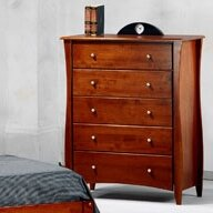 Spices 5 Drawer Chest by Night & Day Furniture