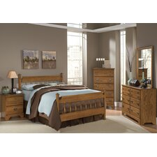Creek Side Panel Customizable Bedroom Set by Carolina Furniture Works, Inc.