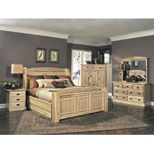 Amish Highland Panel Customizable Bedroom Set by A-America Online Cheap