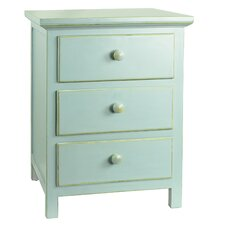 Arrowwood 3 Drawer Nightstand by Darby Home Co®