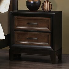 Chernocke 2 Drawer Nightstand by Simmons Casegoods by Darby Home Co®