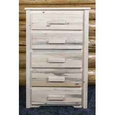 Homestead 5 Drawer Chest by Montana Woodworks®