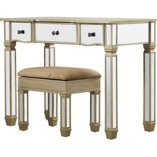 Vanity Set with Mirror by House of Hampton