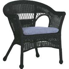 Easy Care Resin Wicker Chair by Plow & Hearth