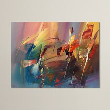 """""""Rayan"""" by Ricardo Tapia Painting Print on Wrapped Canvas"""