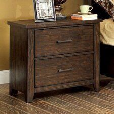 Trenton 2 Drawer Nightstand by Loon Peak®
