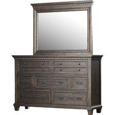 Secretariat 7 Drawer Dresser with Mirror by Rosalind Wheeler