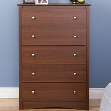 Yards 5 Drawer Dresser by Red Barrel Studio®