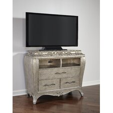 Holmes 3 Drawer Media Chest by House of Hampton