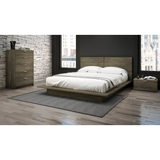 Modena Queen Platform Customizable Bedroom Set by Stellar Home Furniture