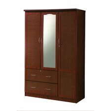 3 Door Armoire by Hodedah Reviews