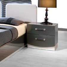 Valencia 2 Drawer Nightstand by BestMasterFurniture