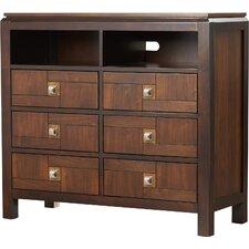 Diamondback 6 Drawer Dresser by Red Barrel Studio®