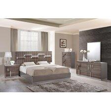 Platform Customizable Bedroom Set by Global Furniture USA