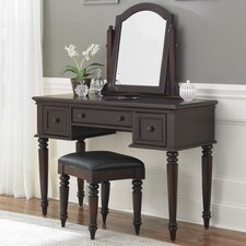 Kenduskeag Vanity Set with Mirror by Breakwater Bay