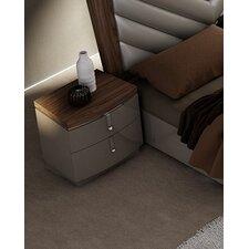 Napa 2 Drawer Nightstand by J&M Furniture