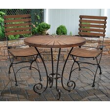 Toscana 3 Piece Bistro Set by Casual Elements